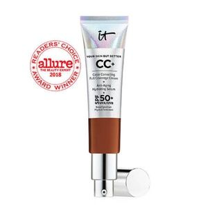 NWT It Cosmetics CC+ Cream with SPF 50+ - Deep